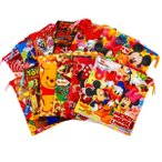 ディズニーカラフル巾着袋 25個セット  景品 キャラクター 子ども会 縁日 お祭り 夏祭り お子様ランチ おもちゃ 玩具 景品玩具 Disney
