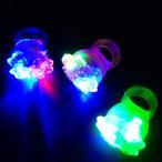 【光る 指輪】光るお花指輪【ご注文単位は必ず36個単位でお願いします】光るおもちゃ 縁日 お祭り