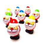 サンタさんパロディゼンマイ【ご注文単位は必ず12個単位でお願いします】クリスマス 景品 子供 おもちゃ 子供会 幼稚園 保育園 子供会 イベント