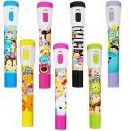 ディズニーツムツム カラフル ペンライトボールペン【ご注文単位は必ず24個単位でお願いします】光るおもちゃ 光り物玩具 景品 子供 子ども会 文具
