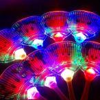 【光るおもちゃ】ディズニーオールスター光るうちわ【ご注文単位は必ず8個単位でお願いします】子供会 縁日 お祭り 夏祭り 玩具 おもちゃ イベント