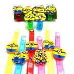 【光るおもちゃ】ミニオンズ光るダイカットブレスレット2【ご注文単位は必ず12個単位でお願いします】 子供会 縁日 お祭り 夏祭り 玩具 おもちゃ