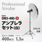 400W デジタルフラッシュ アンブレラ基本セット