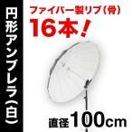 ストロボ撮影 アンブレラPro Mサイズ(白・100cm/16