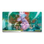 ポケモンカード ラバープレイマット ミュウツー&ミュウ TAG TEAM GX ポケモンカードジム限定販売品