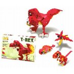 ラキュー・ダイナソーワールド・ティーレックス(LaQ・Dinosaur World・T-Rex)