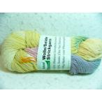 レインボーカラー毛糸・草木染め・パステル100g・織り機にぴったりな太さ