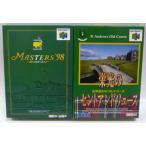 【新品】 ニンテンドー64ソフト 「マスターズ'98 遙かなるオーガスタ&栄光のセントアンドリュース」