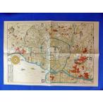 江戸時代 古地図  レプリカ