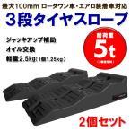 【SALE!】【即納】3段階タイヤスロープ/ワイドマルチ/5t/ジャッキサポート/2個セット/カースロープ