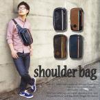 ショルダーバッグ メンズ レディース ショルダーバック 斜めがけ 斜め掛け ミニ サコッシュ 黒 合成皮革 カジュアル 鞄 メンズ 軽量 大きめ 大容量 おしゃれ