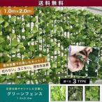 グリーンフェンス 緑のカーテン サンシェード ベランダ グリーンカーテン リーフフェンス 園芸用品 ガーデニング 日除け 目隠し 植物 塀 送料無料
