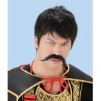 日本の偉人ヒゲ7 武田信玄 コスチューム コスプレ つけひげ つけ髭 なりきり 衣装 宴会 仮装
