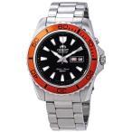 オリエント ORIENT FEM75004B9 マコ Mako XL 自動巻き Automatic メンズ 腕時計 シルバー ブラック