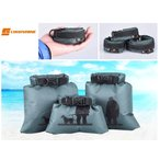 LUCKSTONE 防水バッグ 軽量 折り畳み 旅行などのサブバッグにも! 3サイズセット カラー緑 コンパクト収納 携帯 サブバッグ