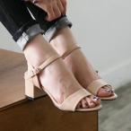 ショッピングサンダル サンダル レディース アンクルストラップ チャンキーヒール 太ヒール 2017 春 ファッション 靴 婦人靴