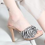 ショッピングミュール サンダル プラットフォーム  レディース ミュール ハイヒール 2017 春 ファッション 靴 婦人靴
