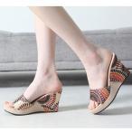 ショッピングウェッジ ウェッジサンダル サンダル サボサンダル レディース ウェッジソール 痛くなりにくい 厚底 夏 2017 ファッション 靴 婦人靴