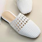 ショッピングフラットシューズ 早割りセール バブーシュ レディース メッシュ ペタンコ フラットシューズ 2018 春 ファッション 靴 婦人靴