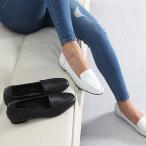 ショッピングフラットシューズ フラットシューズ 本革 レザー シンプル ファッション レディース 靴 30代 40代
