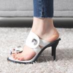 ショッピングサンダル サンダル レディース ミュール ピンヒール 2017 春 ファッション 靴 婦人靴