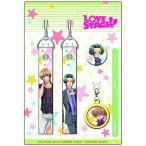 LOVE STAGE!! 付け替え缶バッジホルダー付き携帯ストラップ カップリングセット 聖湖&玲