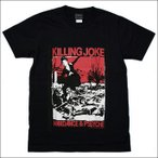 バンドTシャツ Killing joke キリングジョーク ロックTシャツ S/M/L/XL