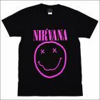 バンドTシャツ Nirvana ニルヴァーナ ロックTシャツ S/M/L/XL