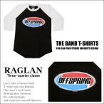 ラグラン 7分袖 バンドTシャツ The Offspring オフスプリング ロックTシャツ S
