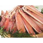 送料無料 蟹しゃぶ カニ鍋 セット 生ずわい蟹 ハーフカット 1.2kg