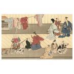 菱川師宣筆 歌舞伎