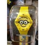 USJ  ミニオン 腕時計 ラバープラスチック腕時計 お土産 グッズ ユニバ 公式
