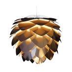 ヴィータ 北欧デンマーク ペンダントライト シルビア コパー 1灯タイプ コード:ホワイト 電球別売 02031-WH エルックス