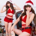 サンタ コスプレ クリスマス サンタクロース コスチューム クロスデザイン/セクシー