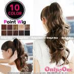 ウィッグ/ポイントウィッグ/ロング/ウェーブ/ポニーテールウィッグ 全10色(wig)