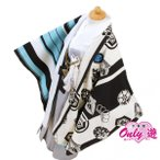 七五三 袴 ジャパンスタイル つるの剛士 男の子 着物 レンタル 5歳 袴セット 子供 羽織 ブルー×白 黒紋字 04-594