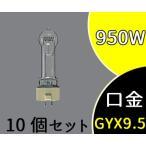 ハロゲン スタジオ用 バイポスト形 1000形 GYX9.5 クリア 3200K JPD100V1000WC/G-3 10個セット パナソニック