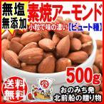 アーモンド ナッツ 無添加 素焼き アーモンド(ビュート種) 500g×1袋 メール便限定 (わけあり 訳あり) 送料無料 セール