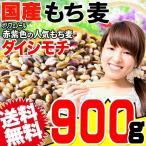 もち麦 国産 グルメセール もちむぎ(ダイシモチ) 900g 令和2年度産 レジスタントスターチ βグルカン わけあり 訳あり 送料無料