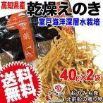無添加 えのき100% 乾燥えのき 40g×2袋  海洋深層水栽培 エノキタケ 高知県産 メー...