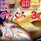 のどぐろ 開き 干物 大 約160g〜200g前後×3枚 日本海 干物 島根県出雲産 高級魚 グルメギフト ※受注発注の為お届けに時間がかかります