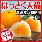 広島県産 (特産品 名物商品) はっさく大福 6個 送料無料 尾道産 因島