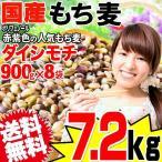 もち麦 国産 グルメセール もちむぎ(ダイシモチ) 7.2kg(900g×8袋) 令和2年度産 レジスタントスターチ βグルカン わけあり 訳あり 送料無料