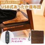 シートクッション ホットクッション あったかグッズ プレゼント女性 USB 座布団 暖かい 電気 座布団 敷くタイプ
