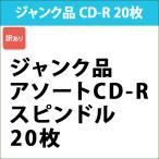 データ用 CD-R 20枚 ジャンク品 スピンドル|CDR20SV_J[訳あり]