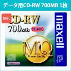 CDRW80MQ.S1P_H ��Ω �ޥ����� �ǡ�����CD-RW 1�� 4��® maxell