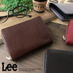 Lee リー 二つ折り財布/2つ折財布 牛革ベジタブルレザー 0520266