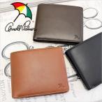 二つ折り財布 財布 サイフ メンズ アーノルドパーマー ARNORD PALMER 2つ折財布 PECORA ペコラ 4AP3205 メール便送料無料