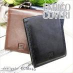 エンリココベリ ENRICO COVERI 二つ折り財布/2つ折財布 小銭入れなし オブリガード ECM045