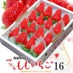 さくらももいちご(16粒/約700g)徳島県佐那河内産 贈答用 桃苺 イチゴ 苺 送料無料 お歳暮